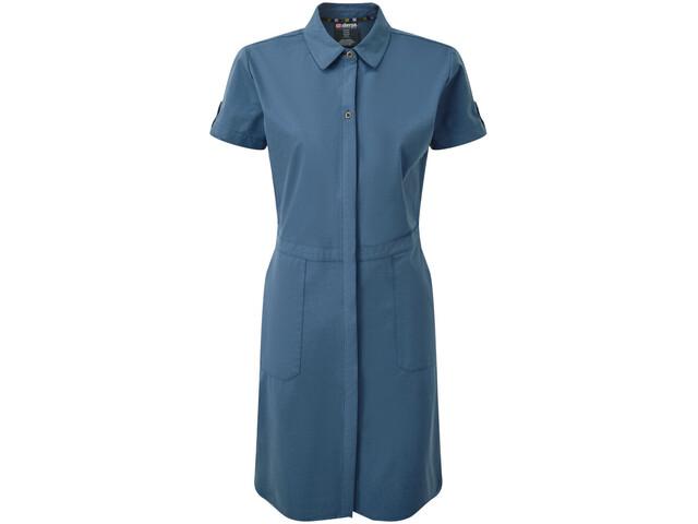 Sherpa Sajilo Dress Women neelo blue